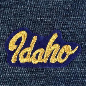 Idaho embroidered souvenir patch